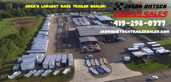 2021 Sundowner Race Series 8.5X34 Car/Race Trailer W/Bath