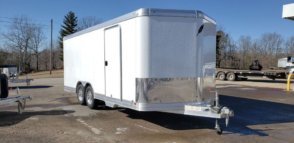 New 2019 20' Featherlite Model 4926 Enclosed Car Trailer  for Sale $17,300