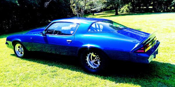 1981 z28 Camaro w/2006 26' Vintage trailer  for Sale $45,000