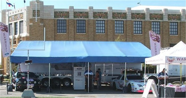 Awnings | No quick pins | No cables | Canopy