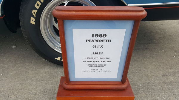 1969 PLYMOUTH GTX  for Sale $59,949