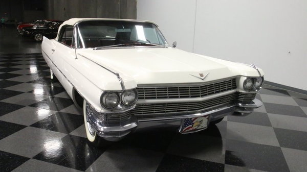 1964 Cadillac DeVille Convertible  for Sale $27,995