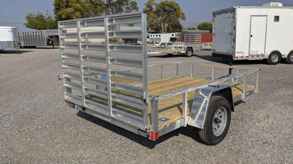"New! 2021 Everlite 6'6""x10' All-Aluminum Utility Trailer  for Sale $2,795"