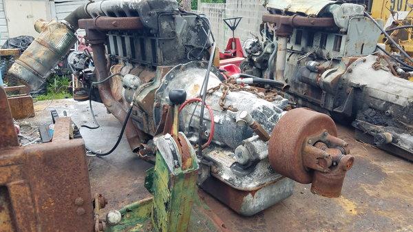Deutz Diesel w/Allison 545 automatic trans  for Sale $7,500