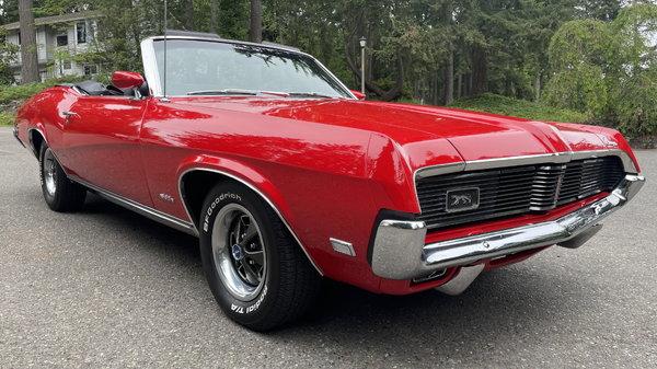 1969 Mercury Cougar  for Sale $52,500