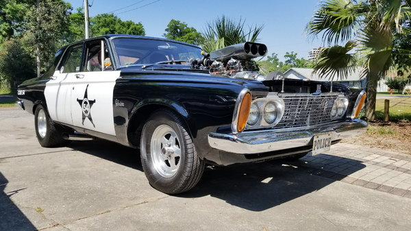 1963 Plymouth Belvedere pro street