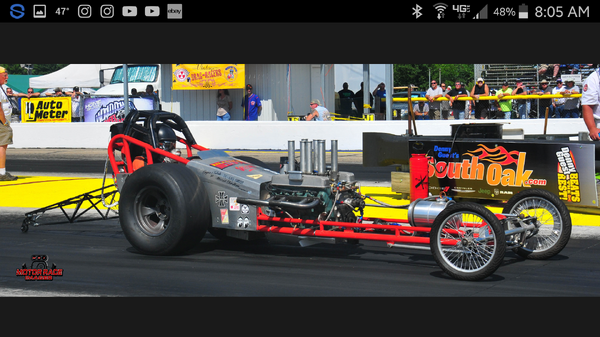1958 chassis reserch dragster  for Sale $15,000