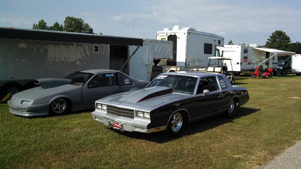 84 Monte Carlo 4 Link, Big Tire, Drag Car TK or Options  for Sale $20,000