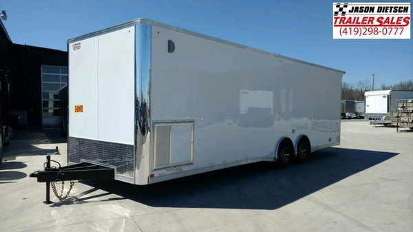 2019 United Trailers XLT 8.5X28 EXTRA HEIGHT Car / Racing Tr