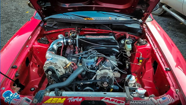 Supercharged 302 with built C4