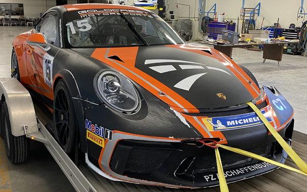 2019 Porsche GT3 Cup (Damaged)  for Sale $39,999