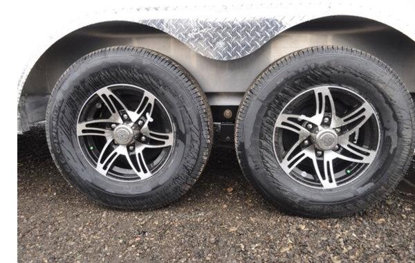2019 Stealth 8.5x25 Snowmobile/Car Hauler Combo Trailer!