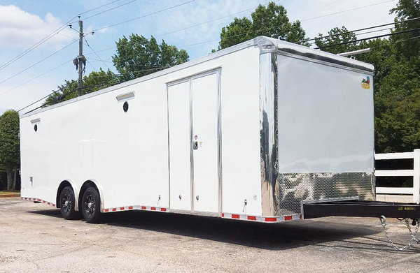 2019 8.5x30 C/W LOADED Side Cabinets w/Tool Box