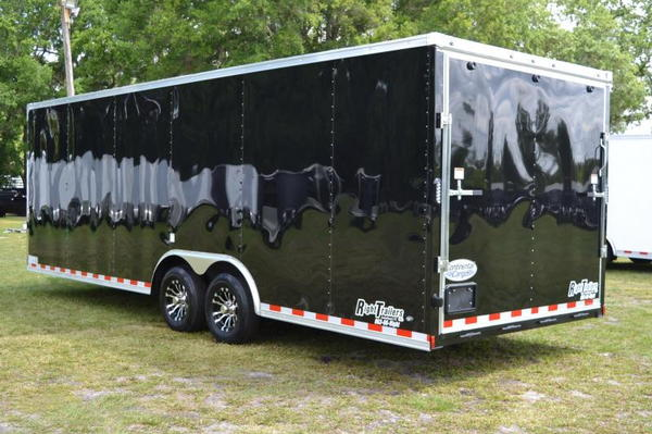 2020 Continental 24' Race Trailer - Cabinets, Alum Wheels