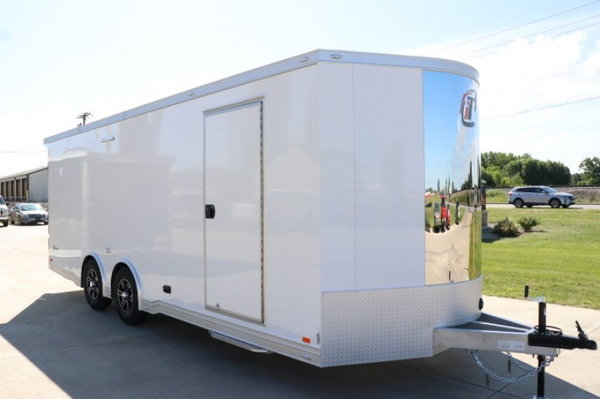 2020 22 foot inTech iCON Vee Nose Trailer - Rail Ryder Equip