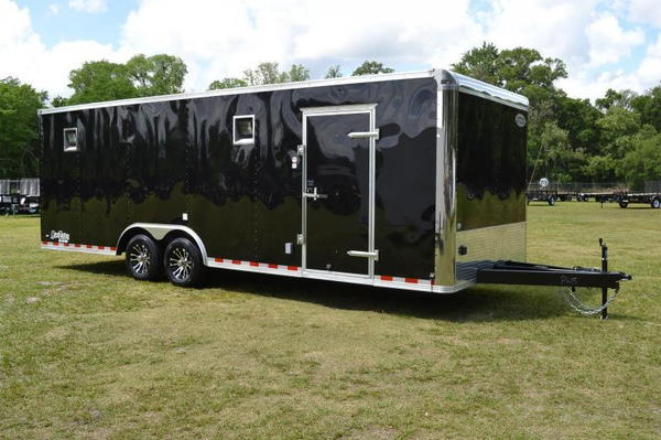 2020 Continental 24' Race Trailer - Cabinets, Alum Wheels -