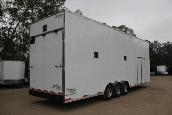 IN PRODUCTION - 8.5x30 Stacker Race Trailer - Pro Package
