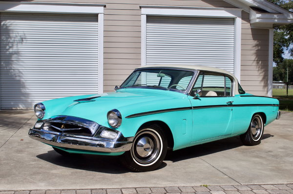 1955 Studebaker President Hardtop 61K Original Miles!