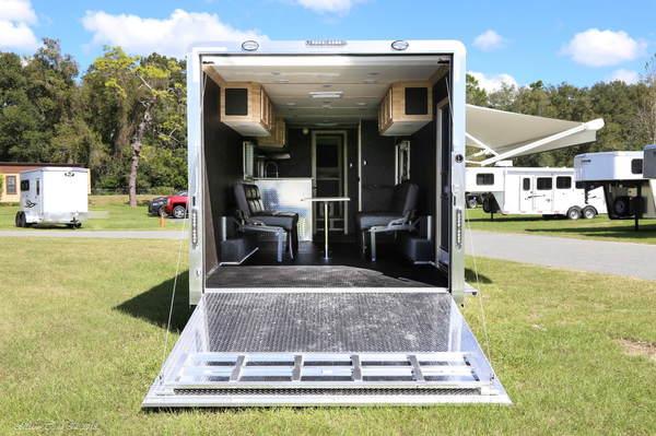 2019 STW Enclosed Toy Hauler With  Luxury LQ