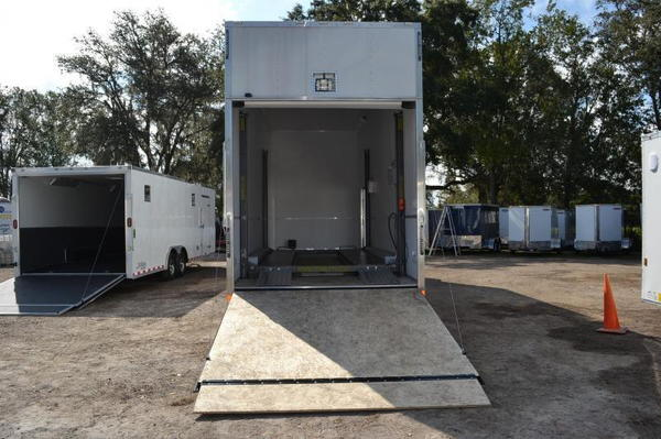 26ft Stacker Race Trailer - Nationwide Delivery - 16' Lift -