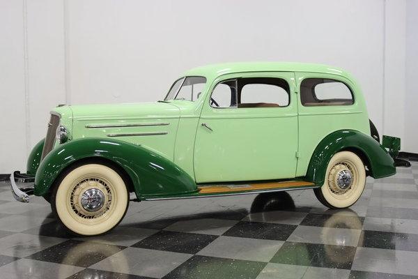 1935 Chevrolet Master Deluxe Sedan  for Sale $21,995