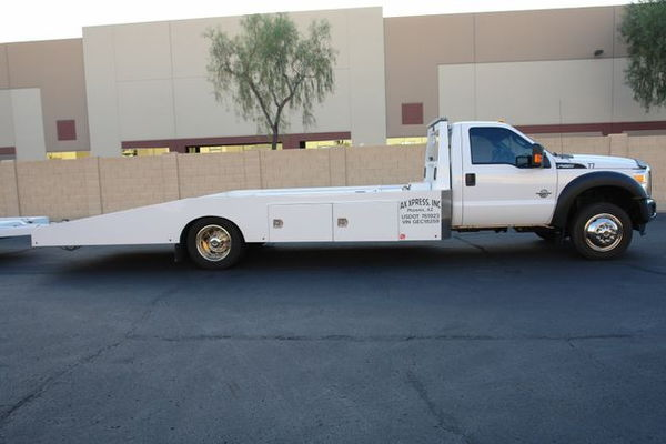 2016 Ford F-550 Hodges Ramp Truck & Trailer  for Sale $59,950