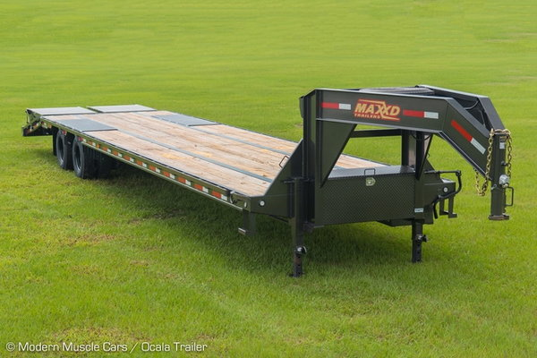 "2020 MAXXD LDX 102 x 40' - Flatbed Trailer""  for Sale $19,900"