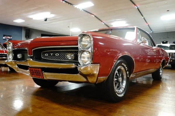 1967 Pontiac GTO  for Sale $59,900