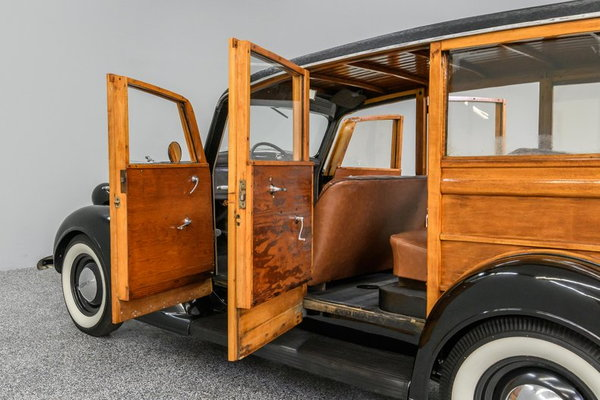1937 Dodge Westchester Suburban Woodie Wagon  for Sale $51,995