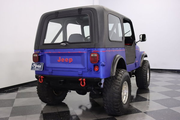 1985 Jeep CJ7  for Sale $29,995