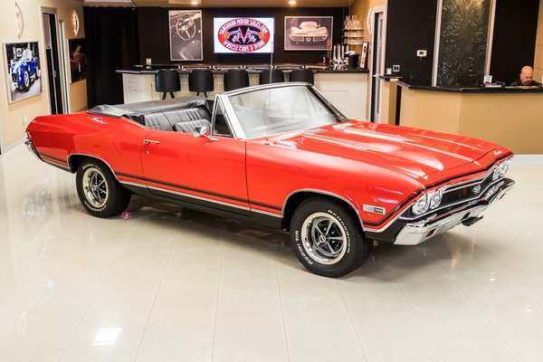 1968 Chevrolet Chevelle Convertible  for Sale $67,900