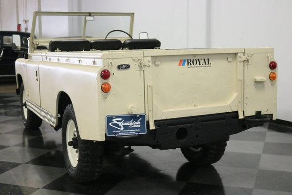1967 Land Rover Series IIA  for Sale $41,995