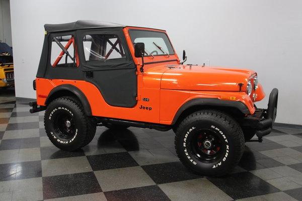 1976 Jeep CJ5  for Sale $26,995