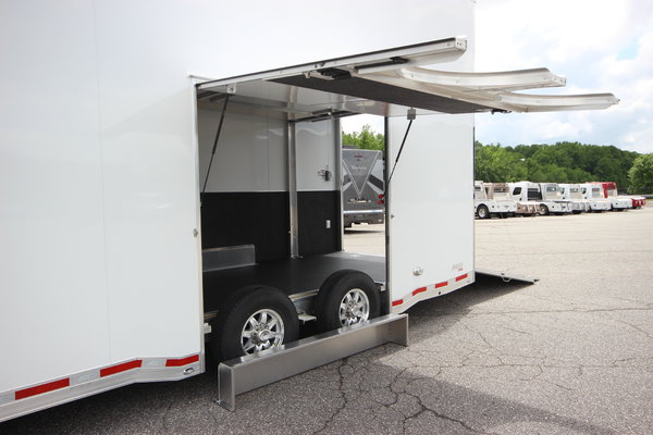 2021 ATC Quest ST305 22' Aluminum Stacker Enclosed Car Trail