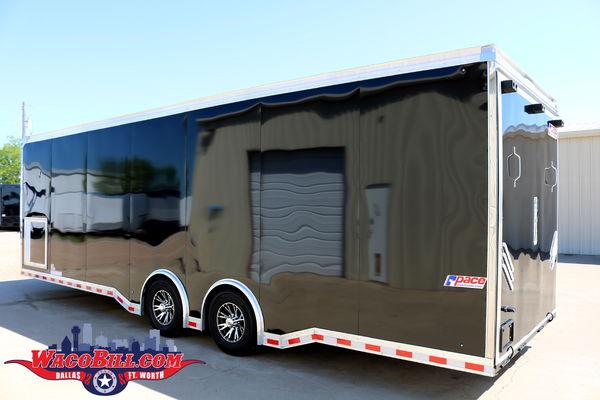28' LOADED! Shadow GT Enclosed Race Car Trailer Wacobill.com