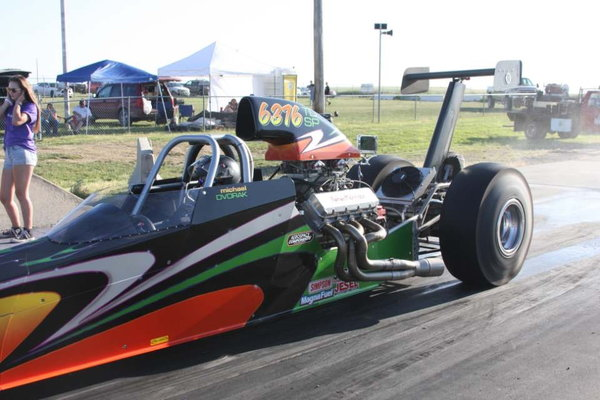 2013 Gebhardt Dragster TK  for Sale $50,000