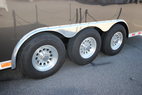 2009 United 30ft. w/7,000lb. Axles Stacker Car Trailer