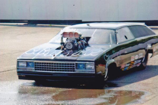 Chevy Malibu Top Sportsman Drag Car  for Sale $43,500