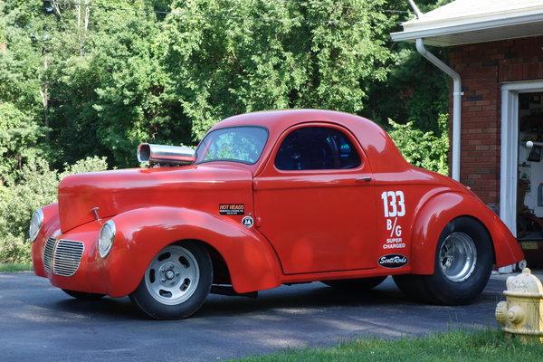 1940 WIllys Nostalgia Car  for Sale $45,000