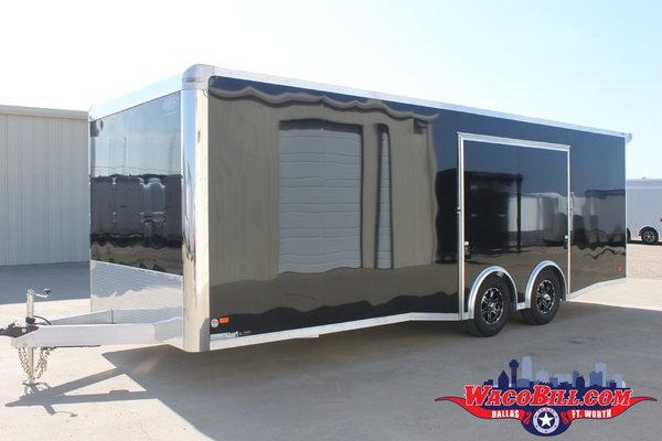 24' Bravo Aluminum Escape Door Race Trailer Wacobill.com  for Sale $17,995