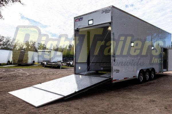 2021 8.5x30 Team Spirit Stacker Trailer