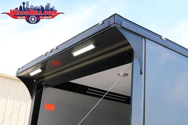 28' Eliminator/ Auto Master Race Trailer @ Wacobill.com