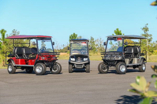 Lifted Bintelli 6PR Golf Cart  for Sale $7,495