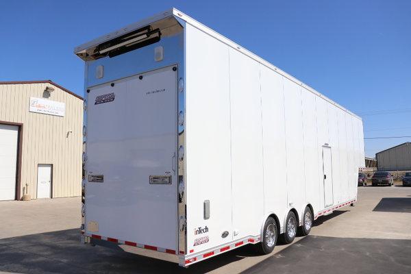 2018 InTech 44' Sprint Car Trailer  for Sale $85,000