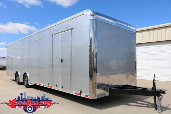32' Auto Master X-Height SPD-LED Race Trailer Wacobill.com