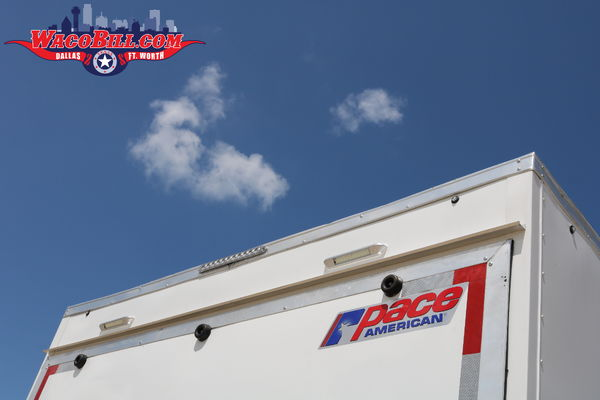 20' Extra-Height Enclosed Motorcoach Trailer