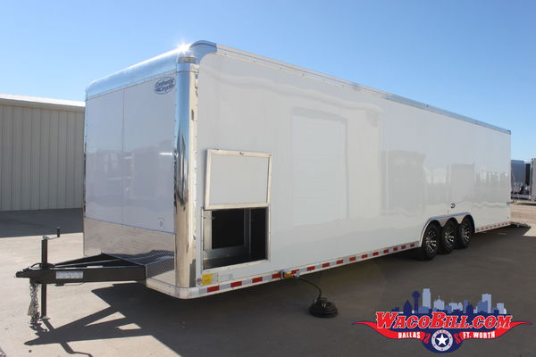 34' Auto Master X-Height LOADED Race Trailer Wacobill.com