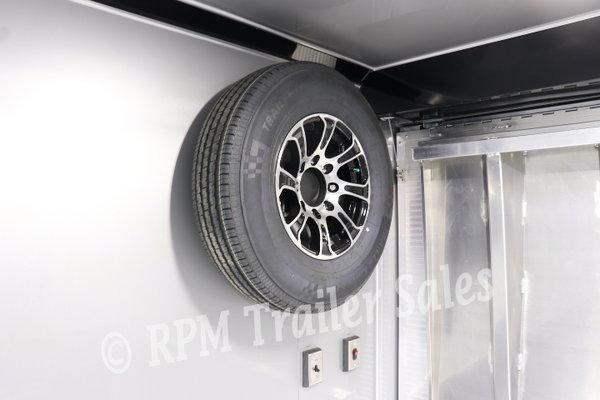 34' Custom inTech Aluminum Race Trailer - 12020