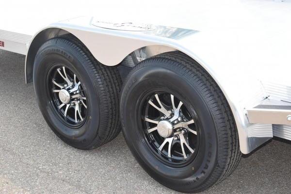 SPORT HAVEN 20' DELUXE ALUMINUM OPEN CAR HAULER  for Sale $9,995