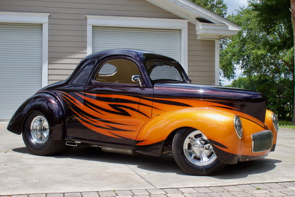 1941 Willy's Americar Coupe Pro-Street Outlaw Body  for Sale $79,950